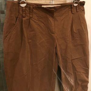 Twelfth street Capri slacks. Soft almost suede